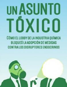 """Cartel de la presentación de la traducción al castellano del informe """"Un asunto tóxico"""" - Ecologistas en Acción"""